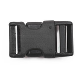 personalized weinerlock contoured side release buckle back view