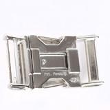 zinc diecast side release buckle back view