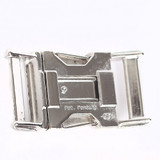 zinc diecast side release buckle back view