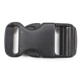 1 Inch black plastic side release buckles discount side release buckle