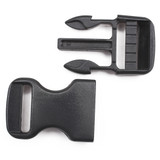 Black Plastic value side release buckle