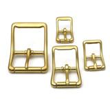 solid brass center bar buckle 1 inch brass buckle small brass buckle, large brass buckle