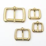 solid brass heel bar buckle 5/8 inch, 3/4 inch, 1 inch, 1.5 inch
