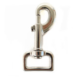 1 inch snap hook one inch shiny nickel plated leash clip silver swivel snap