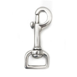 5/8 inch snap hook one inch stainless steel leash clip steel swivel snap