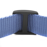 1 inch plastic wide mouth triglide adjuster back view with webbing