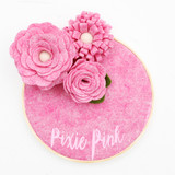National NonWovens Pixie Pink 35% Wool Felt Made in the USA