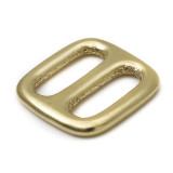 3/4 inch solid brass slip lock brass triglide adjuster