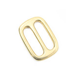 1 inch solid brass slip lock brass triglide adjuster