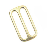 1.5 inch solid brass slip lock brass triglide adjuster