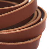 5/8 inch chestnut brown leather straps