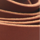1 inch chestnut brown leather straps
