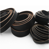black leather belt strips leather craft strips