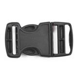 itw nexus 1 inch side release buckle back side