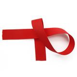 Hot Red Grosgrain Ribbon