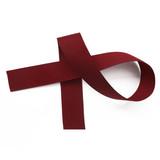 Currant Grosgrain Ribbon