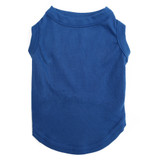 Blue Pet T-Shirt Blank