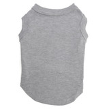 Grey Pet T-Shirt Blank