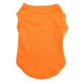 Orange Pet T-Shirt Blank