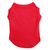 Red Pet T-Shirt Blank