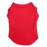 Red Pet T-Shirt Blank
