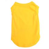 Yellow Pet T-Shirt Blank