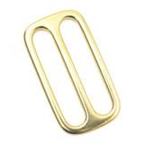 2 inch solid brass slip lock brass triglide adjuster