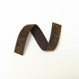 Brown Golden Velvet Ribbon