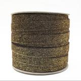 Wholesale Brown Glitter Velvet Ribbon - Such Good Supply