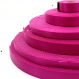 wholesale raspberry nylon webbing magenta heavy duty nylon webbing