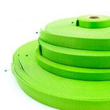 wholesale bright neon green nylon webbing - wholesale apple green nylon webbing