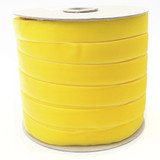 Wholesale Yellow Velvet Ribbon Spool Such Good Supply