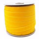 Wholesale Maize Yellow Velvet Ribbon Spool Such Good Supply