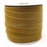 Wholesale Vintage Gold Velvet Ribbon Spool Such Good Supply