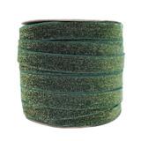 Wholesale Evergreen Glitter Velvet Ribbon - Such Good Supply