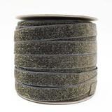 dark grey glitter velvet ribbon spool