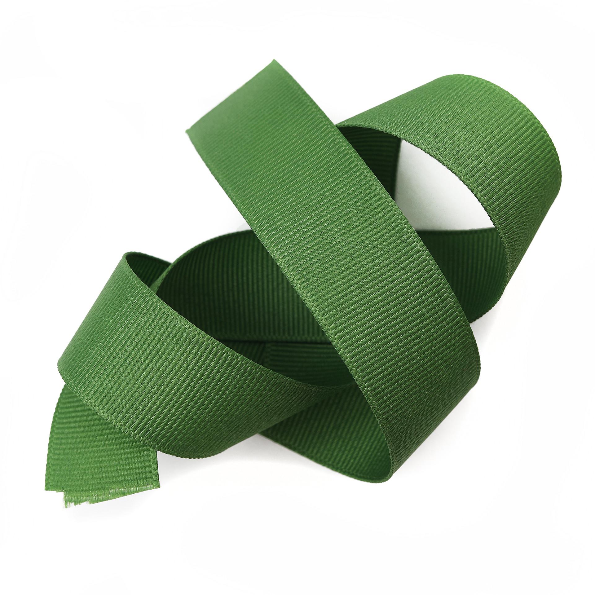 Leaf Grosgrain Ribbon