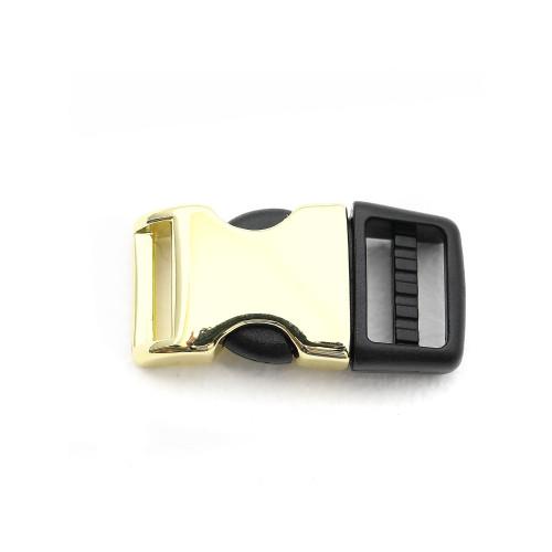 5/8 inch brass metal plastic hybrid side release