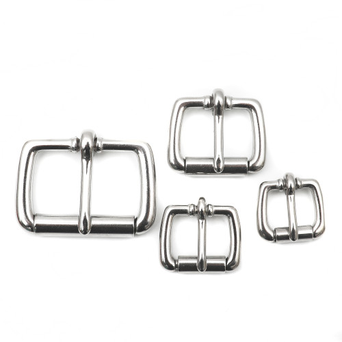 Stainless Steel Heel Bar Buckle 1 inch 1.5 inch 3/4 inch 5/8 inch