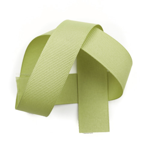 Lemon Grass Grosgrain Ribbon berwick offray grosgrain ribbon