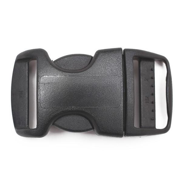 ITW Nexus 1 inch Contoured plastic side release buckle