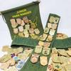 National Park Junior Ranger Badges Display Sash / Enamel Pin & Patch Organizer
