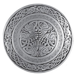 Celtic Bird Belt Buckle