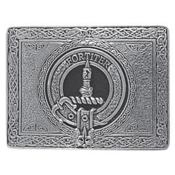 Rectangular Clan Crest Buckle