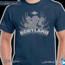 Alba Lion T-shirt_Blue Dusk