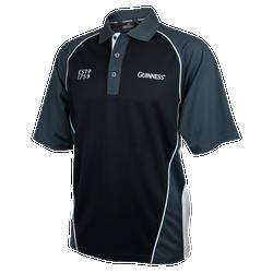 Black and Grey Golf Shirt