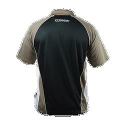 Brown Paneled Golf Shirt