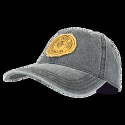 Grey Harp Baseball Hat
