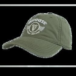 Green emb & print Cap