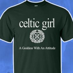 CelticGirl T-Shirt